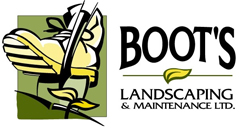 Boot's Landscaping & Maintenance LTD. Logo